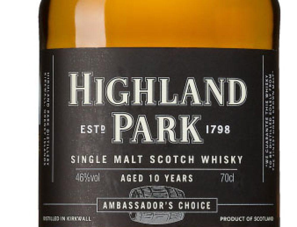 Highland Park Ambassadors Choice 10 YO