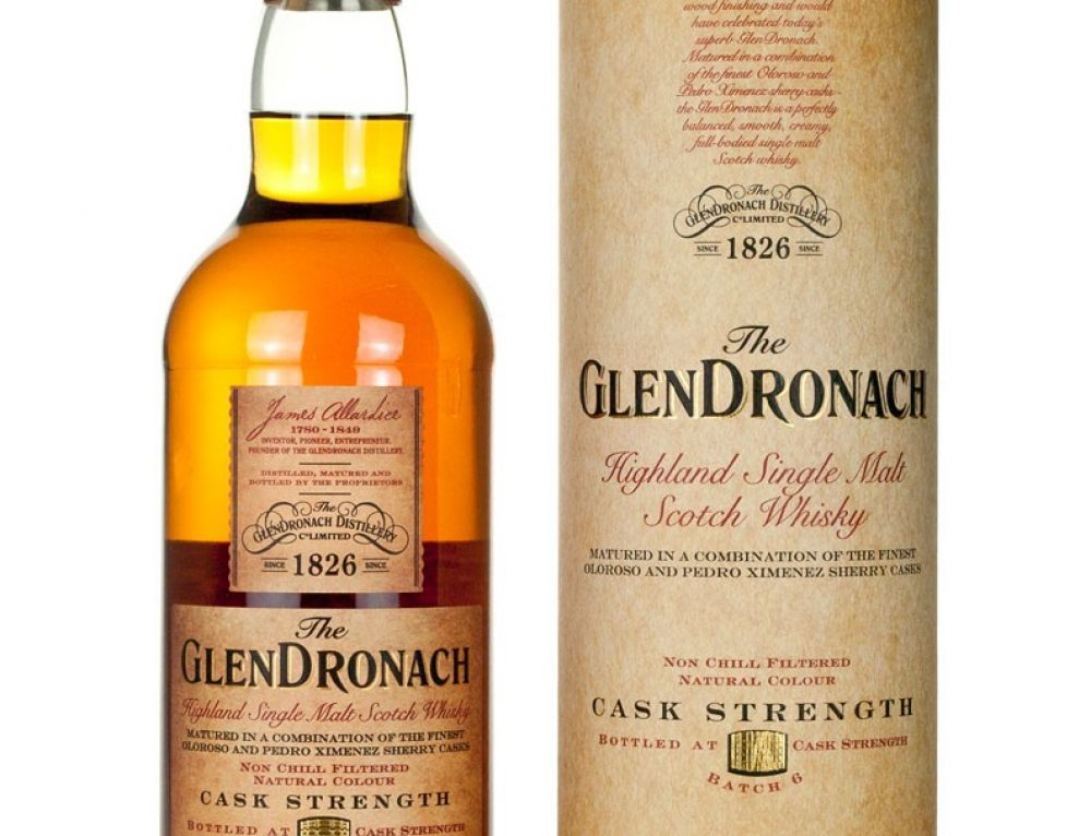 Glendronach Cask Strength – Batch 6