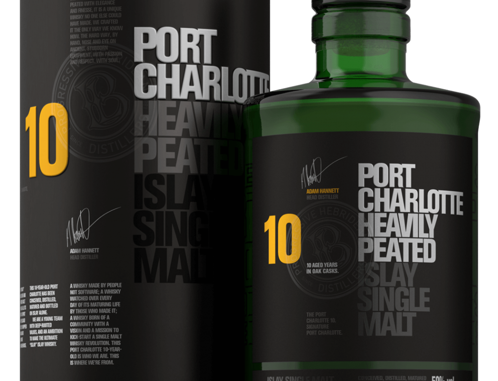 Port Charlotte 10 yo Heavily Peated