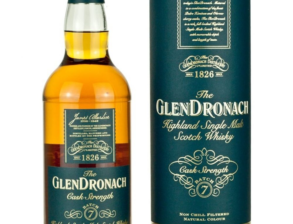 Glendronach Cask Strength Batch 7