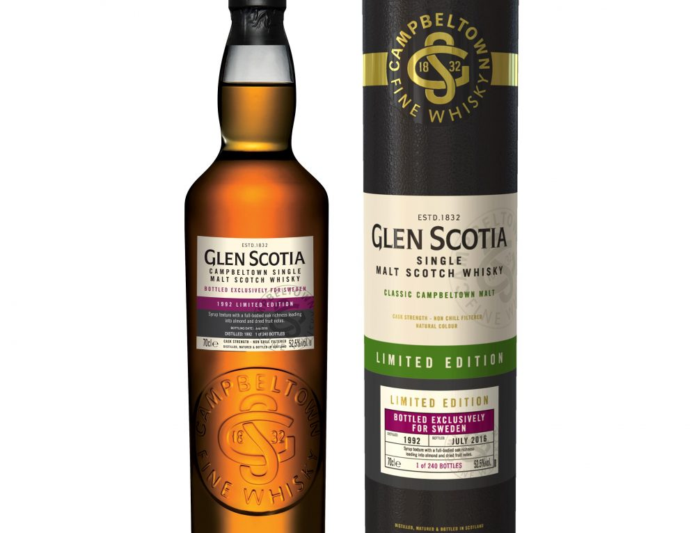 Glen Scotia Limited Edition 1992